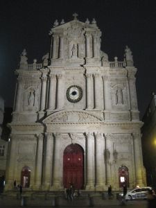 St. Paul Church, beautiful red door
