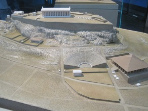 this replica of what the area looked like in it's origional state