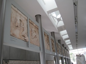inside the museum, they either have the origional panel, OR a replica of the panel.