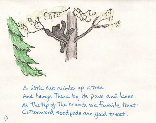 cartoon 1 cub climbs tree 2014 june 1